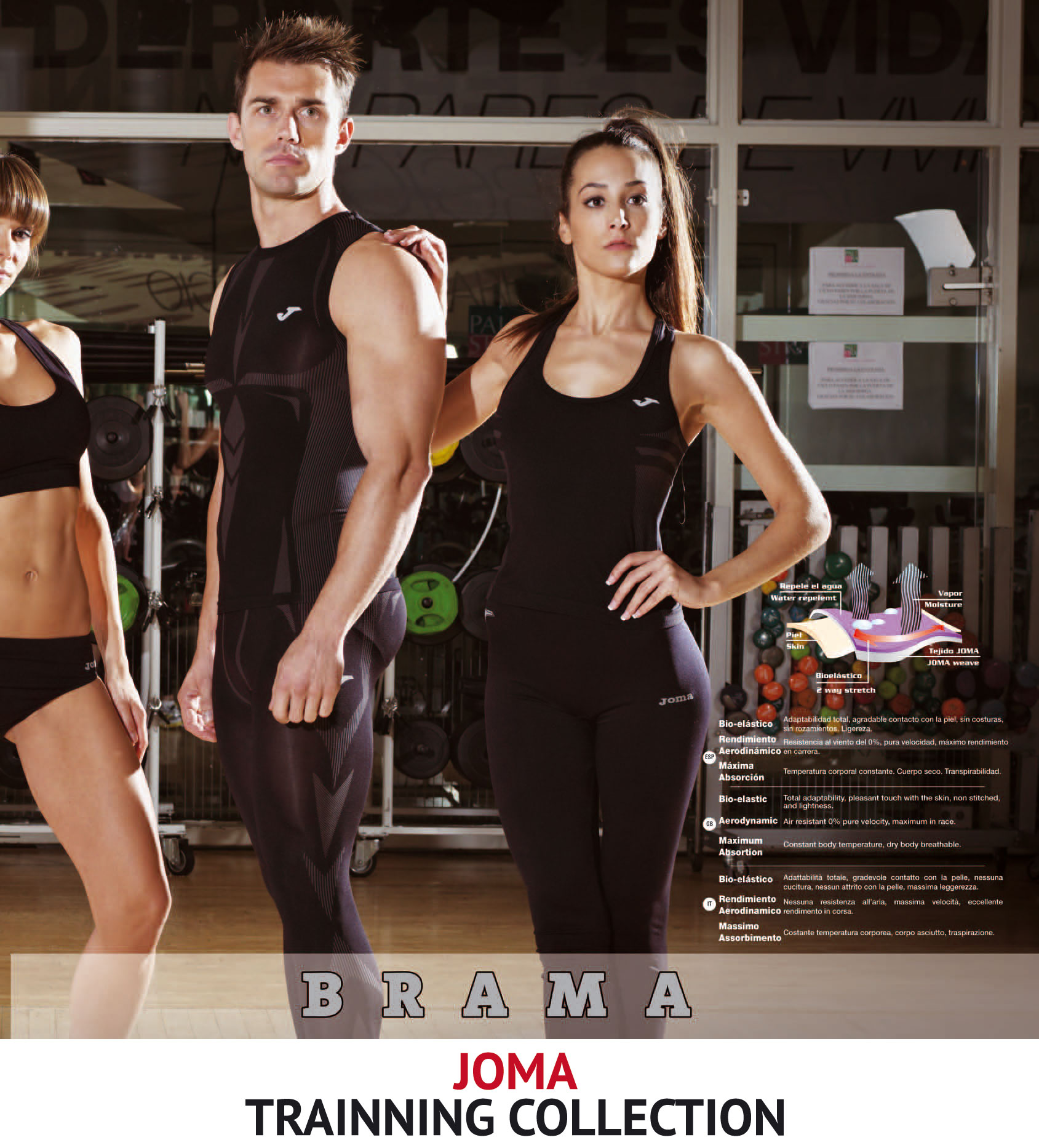 Joma-Training-Técnic Collection